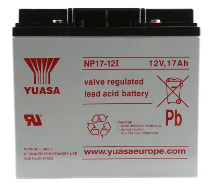 NP17-12I Lead Acid Battery - 12V, 17Ah
