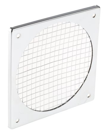 Fan Filter, Fan Mounted 124 x 124mm, for 119mm Fan Steel