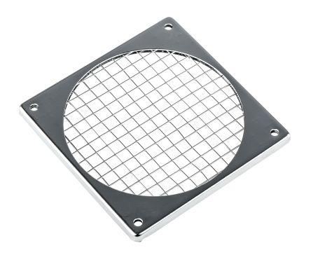 Fan Filter, Fan Mounted 95 x 95mm, for 92mm Fan Steel