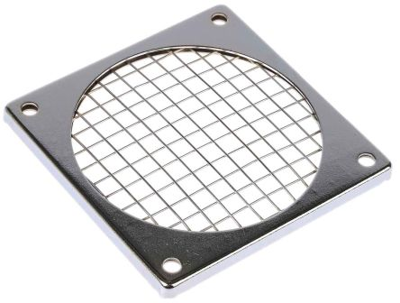 Fan Filter, Fan Mounted 85 x 85mm, for 80mm Fan Steel
