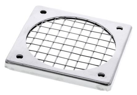 Fan Filter, Fan Mounted 65 x 65mm, for 60mm Fan Steel