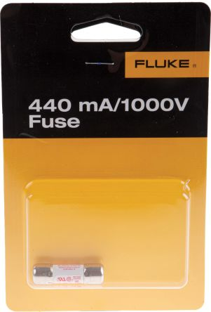 Fluke 1640597 Multimeter Fuse, 440mA 1000V, For Use With Series III