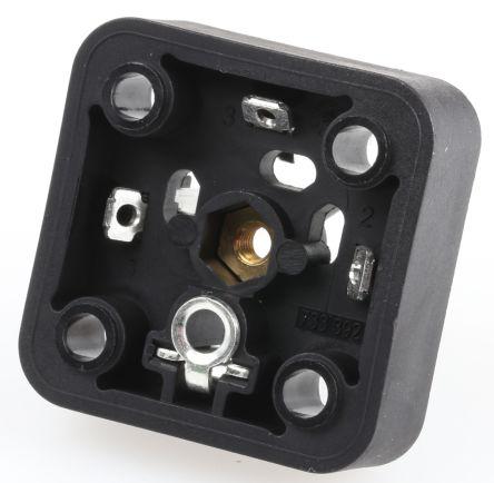 Hirschmann 3P+E DIN 43650 A Solenoid Valve Connector,