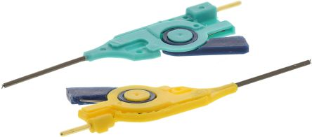 Blue, Yellow Grabber Clip, 0.8 -> 13mm Tip Size product photo