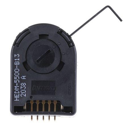 Broadcom Incremental Encoder 500 ppr 30000rpm Hollow 4.5 → 5.5 V dc