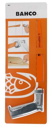 Bahco Pad Saw With 310 mm Bi-metal Removable Blade, 24 Teeth Per Inch