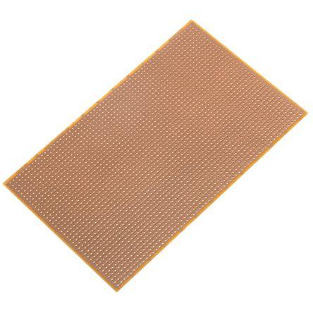 RE520-HP, Single-Sided Stripboard FR-2 100 x 160 x 1.5mm FR2 product photo