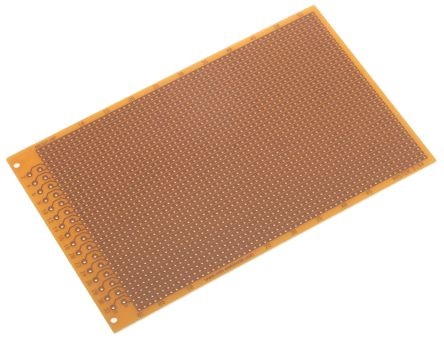 RE 521-HP, Single-Sided Stripboard FR-2 100 x 160 x 1.5mm DIN 41612 FR2 product photo