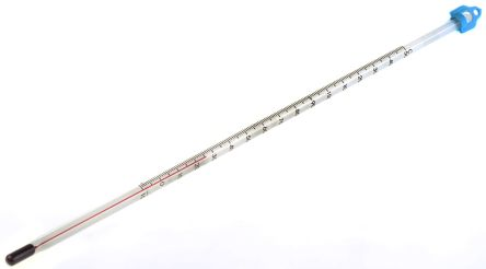 Brannan Immersion Glass Thermometer, Laboratory, -10 → +150 °C