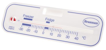 Brannan Freezer, Fridge Glass Thermometer, Kitchen Appliance, -30 → +40 °C