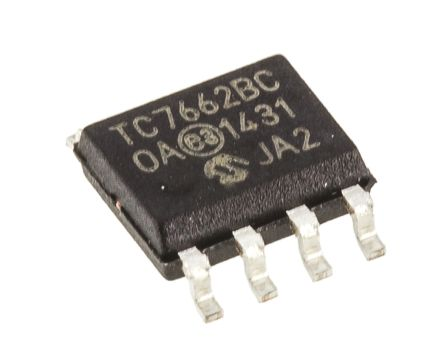 Microchip TC7662BCOA, Inverting DC-DC Converter, 20mA 8-Pin, SOIC