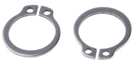Stainless Steel External Circlip, 14mm Shaft Diameter, 13.4mm Groove Diameter product photo