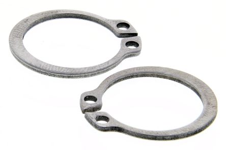 Stainless Steel External Circlip, 19mm Shaft Diameter, 18mm Groove Diameter product photo
