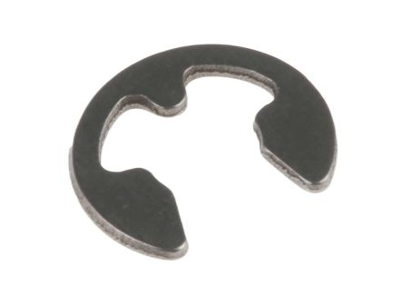 Stainless Steel E Type Circlip, 6mm Shaft Diameter, 4mm Groove Diameter product photo