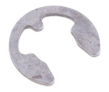 Stainless Steel E Type Circlip, 9.5mm Shaft Diameter, 7mm Groove Diameter product photo