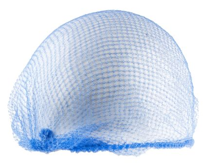 PAL Blue Disposable Hair Net One Size, Ideal for Food Industry, Industrial Use