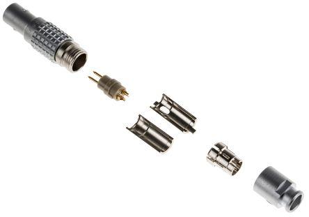Brass Body Circular Connector 9 Contacts FGG.0B.309.CLAD52 FGG.0B.309.CLAD52 0B Series