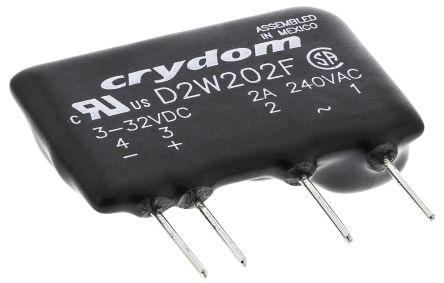 Sensata Crydom 2 A Solid State Relay Zero Cross PCB Mount Triac