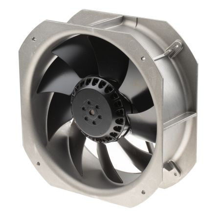 ebm-papst W2E200H Series Axial Fan, 225 x 225 x 80mm, 935m³/h, 64W, 230 V ac