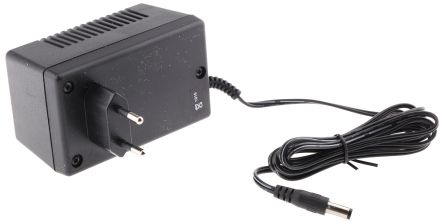 Mascot, 6 5W Plug In Power Supply 24V dc, 270mA, 1 Output Linear Power  Supply, 2-Pin Type C - EuroPlug