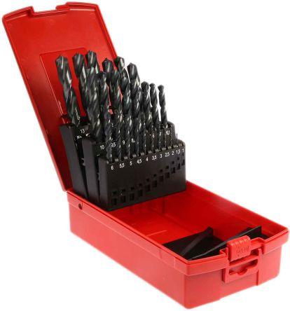 Dormer 25 piece HSS Jobber Drill Set 1mm to 13mm