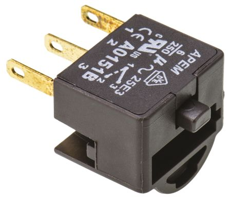 Maintained Action, NO/NC Switch Block for use with A01 Series