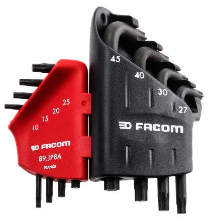 Facom 8 Piece L Shape Torx Key Set T10