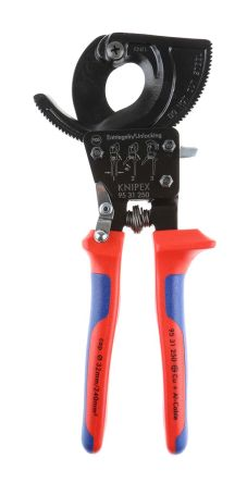 Knipex 250mm Wire Cutter For Aluminium Wire, Copper Wire, 32mm cutting  capacity