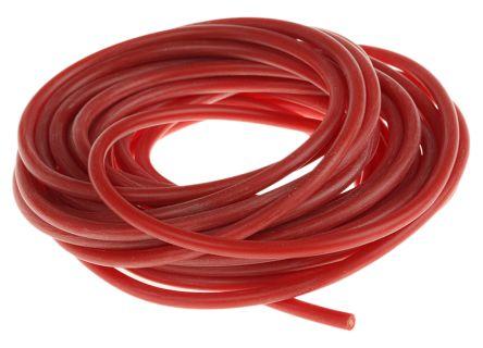 HEW-KABEL SIFF Silikon Schaltdraht, Kupferdraht, rot, 1,1 mm², 516/0 ...