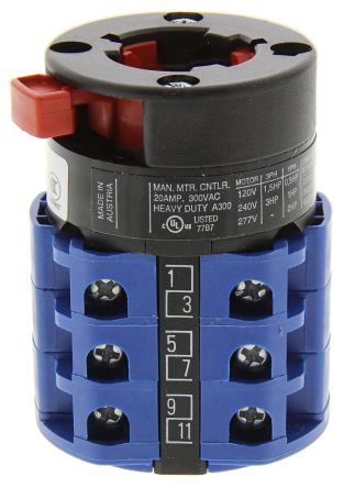 Kraus /& Naimer interruptor principal Ctrl CA10-A203//GBA001 20A 300Vac