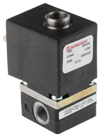 2/2 Pneumatic Control Valve Solenoid/Spring G 1/8 V03 Series product photo