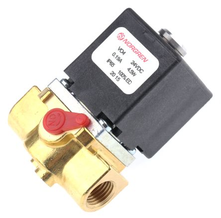 2/2 Pneumatic Control Valve Solenoid/Spring G 1/4 V04 Series product photo
