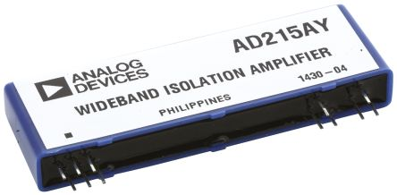 Analog Devices AD215AY, Isolation Amplifier, 12-Pin SIP