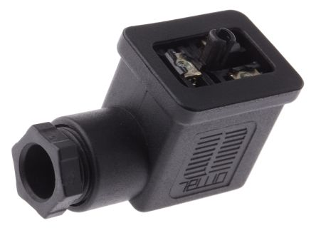 SMC Pneumatic Solenoid Coil Connector, Connector