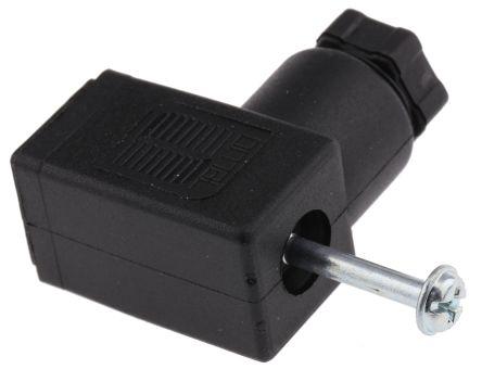 SMC Pneumatic Solenoid Coil Connector, Connector
