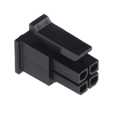Molex Micro-Fit 3 0 Female Connector Housing, 3mm Pitch, 4 Way, 2 Row