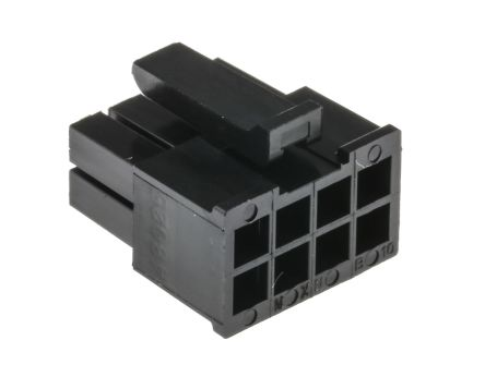 2 Row with Panel Mount Ears Micro-Fit 3.0 Plug Housing 6 Way
