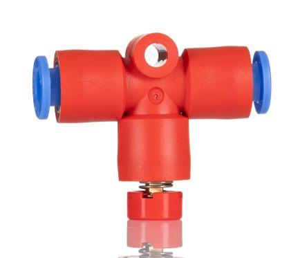 SMC Residual Pressure Relief Valve, x6mm