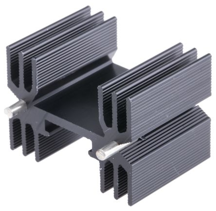 Heatsink, TO-220, TO-3P, 9°C/W, 25 x 35 x 25mm, Clip