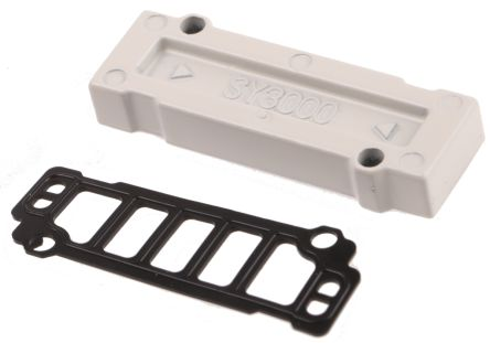 Blanking plate for manifold valve