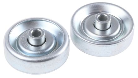 Interroll 200N Skate Wheel, 48mm diameter, 6.5mm Bore Diameter
