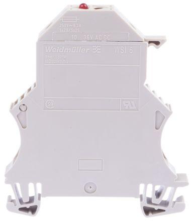 3 x White In-line Plastic Car Fuse Holder