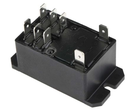 TE Connectivity DPDT NonLatching Relay Flange Mount 240V ac Coil