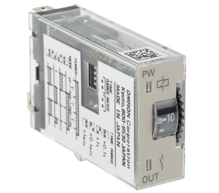 H3RN1 24DC Omron Omron Multi Function Timer Relay Socket 01 s