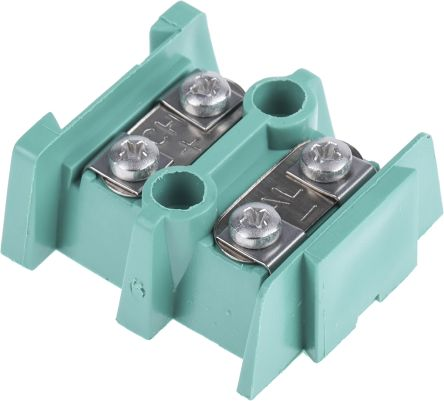 RS PRO IEC Barrier Terminal Block for use with Type K Thermocouple, Single  Pair