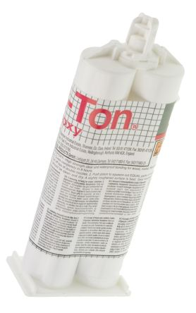 2 Ton 50 ml Transparent Cartridge Epoxy Adhesive for Various Materials product photo