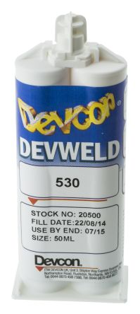 ITW Devcon Devweld 530, 50 ml Paste Acrylic Adhesive