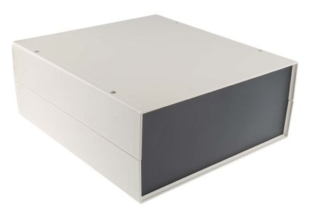 ABS Project Box, White, 291 x 264 x 111mm product photo