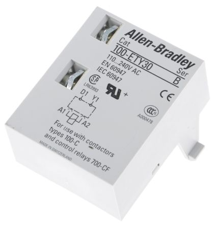 Bulletin 100-C Series Digital (Star Delta) Contactor Timer, Range 1 -> 30s, NO/NC Contacts product photo