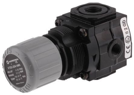 Norgren V74G G 1/4 Female Pressure Relief Valve Female G 50mm 1/4in 0.3bar, to 10 bar